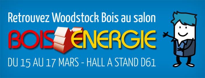 retrouvez woodstock sur le salon bois energie 2016 woodstock. Black Bedroom Furniture Sets. Home Design Ideas